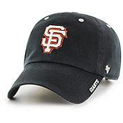 '47 Men's San Francisco Giants Ice Clean Up Black Adjustable Hat