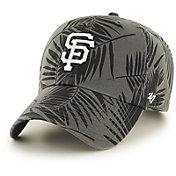 '47 Men's San Francisco Giants Palma Clean Up Black Adjustable Hat