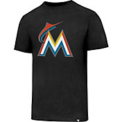 '47 Men's Miami Marlins Black T-Shirt