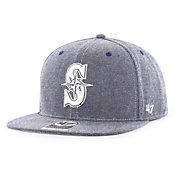 '47 Men's Seattle Mariners Emery Captain Adjustable Snapback Hat