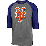 '47 Men's New York Mets Club Three-Quarter Sleeve Shirt