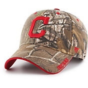 '47 Men's Cleveland Indians Realtree Camo Frost MVP Adjustable Hat