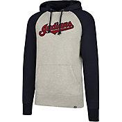 '47 Men's Cleveland Indians Headline Pullover Hoodie