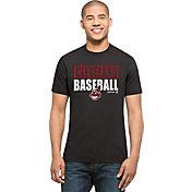'47 Men's Cleveland Indians Splitter Grey T-Shirt
