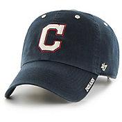'47 Men's Cleveland Indians Ice Clean Up Navy Adjustable Hat