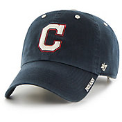 '47 Men's Cleveland Indians Ice Clean Up Navy Adjustable Hat