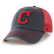'47 Men's Cleveland Indians Taylor Closer Navy Fitted Hat