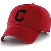 '47 Men's Cleveland Indians Clean Up Red Adjustable Hat