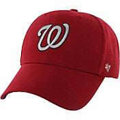 '47 Youth Washington Nationals Basic Red Adjustable Hat