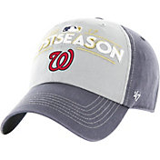 '47 Men's Washington Nationals 2017 MLB Postseason Locker Room Adjustable Hat
