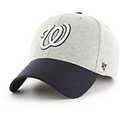 '47 Men's Washington Nationals Retent MVP Grey Adjustable Hat