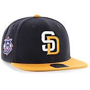 '47 Men's San Diego Padres Sure Shot Captain Navy Adjustable Snapback Hat