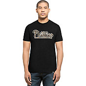 '47 Men's Philadelphia Phillies Black Club T-Shirt