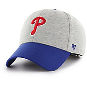 '47 Men's Philadelphia Phillies Retent MVP Grey Adjustable Hat