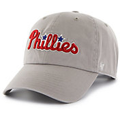 '47 Men's Philadelphia Phillies Clean Up Grey Adjustable Hat