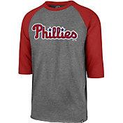 '47 Men's Philadelphia Phillies Club Three-Quarter Sleeve Shirt