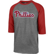 '47 Men's Philadelphia Phillies Club Three-Quarter Sleeve Shirt