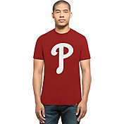 '47 Men's Philadelphia Phillies Red Club T-Shirt