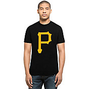 '47 Men's Pittsburgh Pirates Black Club T-Shirt