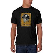 '47 Men's Pittsburgh Pirates Scrum Black T-Shirt