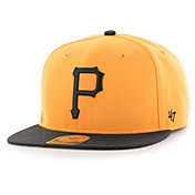 '47 Men's Pittsburgh Pirates Gold Sure Shot Adjustable Snapback Hat
