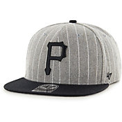 '47 Men's Pittsburgh Pirates Grey Holbrook Adjustable Snapback Hat
