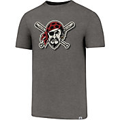 '47 Men's Pittsburgh Pirates High Point Grey T-Shirt