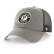 '47 Men's Pittsburgh Pirates Oracle Closer Grey Fitted Hat