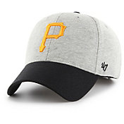 '47 Men's Pittsburgh Pirates Retent MVP Grey Adjustable Hat