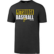 '47 Men's Pittsburgh Pirates Splitter Grey T-Shirt