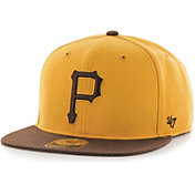 '47 Men's Pittsburgh Pirates Gold Adjustable Snapback Hat