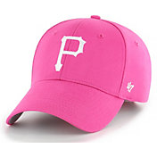'47 Youth Girls' Pittsburgh Pirates MVP Pink Adjustable Hat
