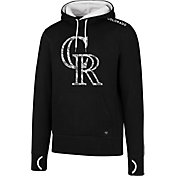'47 Men's Colorado Rockies Black Pullover Hoodie