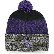 '47 Men's Colorado Rockies Static Black Knit Hat
