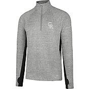 '47 Men's Colorado Rockies Grey Quarter-Zip Pullover