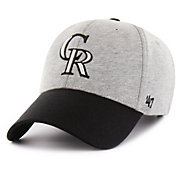 '47 Men's Colorado Rockies Retent MVP Grey Adjustable Hat