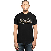 '47 Men's Cincinnati Reds Black Club T-Shirt