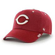 '47 Men's Cincinnati Reds Ice Clean Up Red Adjustable Hat