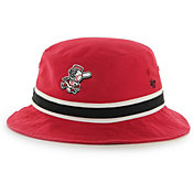 '47 Men's Cincinnati Reds Striped Bucket Hat