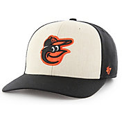 '47 Men's Baltimore Orioles Inductor MVP Black Adjustable Hat