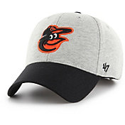 '47 Men's Baltimore Orioles Retent MVP Grey Adjustable Hat