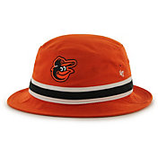 '47 Men's Baltimore Orioles Striped Bucket Hat