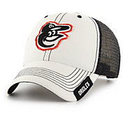 '47 Men's Baltimore Orioles Clean Up White Adjustable Hat
