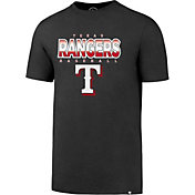 '47 Men's Texas Rangers Splitter Grey T-Shirt