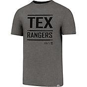 '47 Men's Texas Rangers High Point Grey T-Shirt