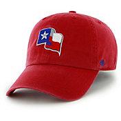 '47 Men's Texas Rangers Clean Up Red Adjustable Hat