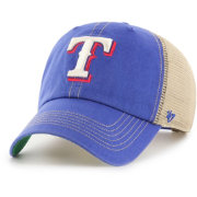 '47 Men's Texas Rangers Trawler Clean Up Adjustable Hat