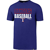 '47 Men's Texas Rangers Blockout T-Shirt