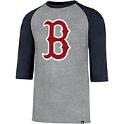 '47 Men's Boston Red Sox Club Three-Quarter Sleeve Shirt