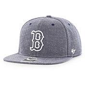 '47 Men's Boston Red Sox Emery Captain Adjustable Snapback Hat